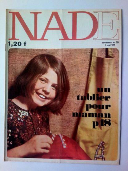 NADE N° 19 Les jumelles - La course au trésor (9 mai 1971 - Janine Lay)