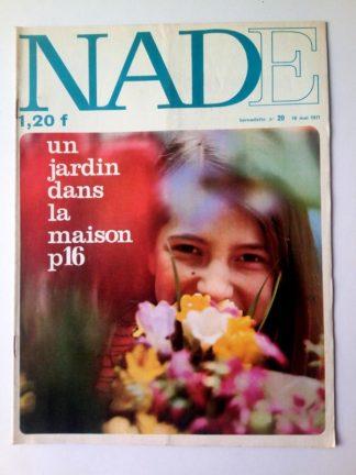 NADE N° 20 Les jumelles - La course au trésor (16 mai 1971 - Janine Lay)