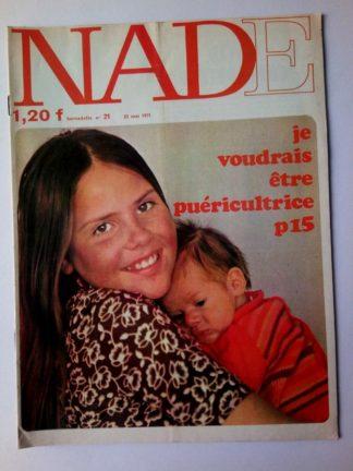 NADE N° 21 Les jumelles - La course au trésor (23 mai 1971 - Janine Lay)