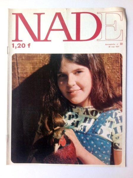 NADE N° 22 Les jumelles - La course au trésor (30 mai 1971 - Janine Lay)