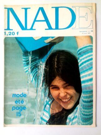 NADE N° 24 Les jumelles - La course au trésor (13 juin 1971 - Janine Lay)