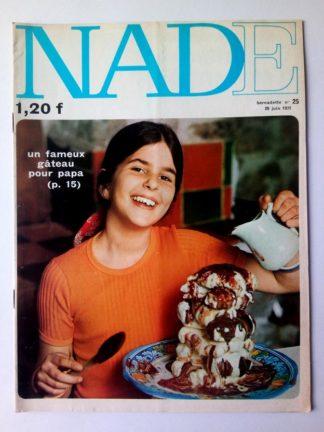 NADE N° 25 Les jumelles - La course au trésor (20 juin 1971 - Janine Lay)