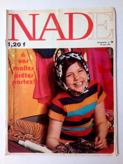 NADE N° 26 Les jumelles - La course au trésor (27 juin 1971 - Janine Lay)