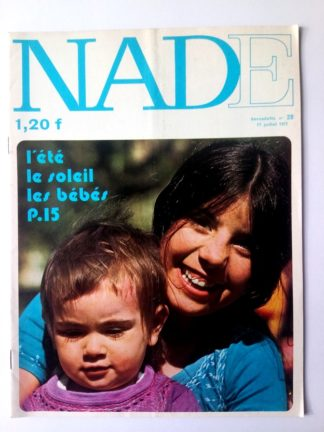 NADE N° 28 Les jumelles - L'île des géants (11 juillet 1971 - Janine Lay)