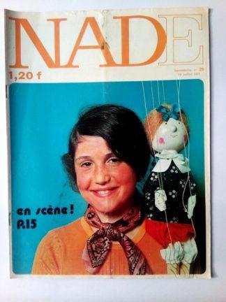 NADE N° 29 Les jumelles - L'île des géants (18 juillet 1971 - Janine Lay)