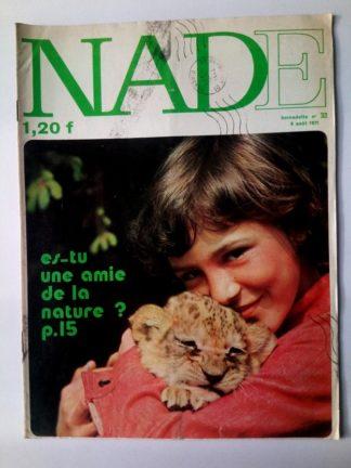 NADE N° 32 Les jumelles - L'île des géants (8 août 1971 - Janine Lay)