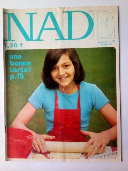 NADE N° 35 Les jumelles - Le bélier aux cornes d'or (29 août 1971 - Janine Lay)