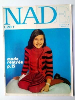 NADE N°36 (1971)Les jumelles – Le bélier aux cornes d'or (Janine Lay)