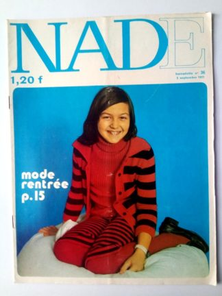NADE N° 36Les jumelles - Le bélier aux cornes d'or (5 septembre 1971) Janine Lay