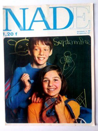 NADE N° 37Les jumelles - Le bélier aux cornes d'or (12 septembre 1971) Janine Lay