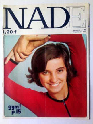 NADE N° 38Les jumelles - Le bélier aux cornes d'or (19 septembre 1971) Janine Lay