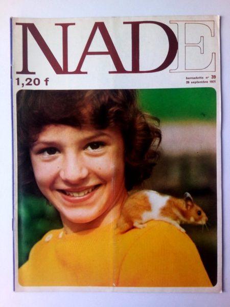 NADE N° 39Les jumelles - Le bélier aux cornes d'or (26 septembre 1971) Janine Lay