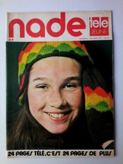 NADE N° 41 Les jumelles - La Clef (10 octobre 1971) Janine Lay