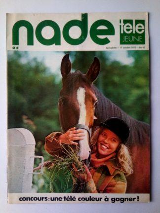 NADE N° 42 Les jumelles - La Clef (17 octobre 1971) Janine Lay