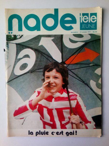 NADE N° 44 Les jumelles - La Clef (31 octobre 1971) Janine Lay