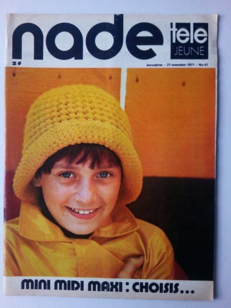 NADE N° 47 Les jumelles - La Clef (21 novembre 1971) Janine Lay