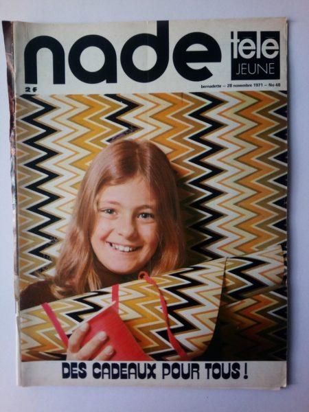 NADE N° 48 Les jumelles - La Clef (28 novembre 1971) Janine Lay