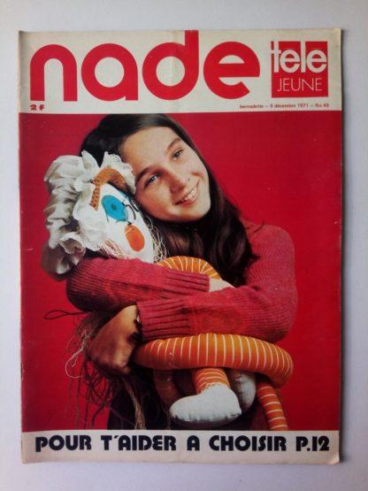 NADE N° 49 Les jumelles - La Clef (5 décembre 1971) Janine Lay