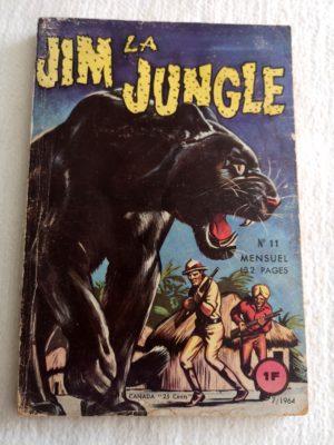 JIM LA JUNGLE (Edi Europ) N° 11 L'HERITIER RECALCITRANT