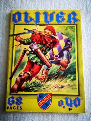 OLIVER N° 121 - 10 coffres d'or (IMPERIA 1963) BD