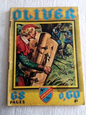 OLIVER N° 241 - Les vampires (IMPERIA 1968) BD