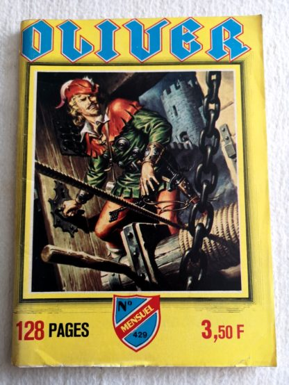 OLIVER N° 429 - Le druide (IMPERIA 1981)