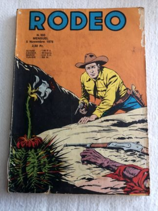 RODEO N°303 TEX WILLER LUG 1976