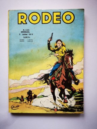 RODEO N° 335 TEX WILLER (Les chasseurs de scalps - fin) LUG 1979