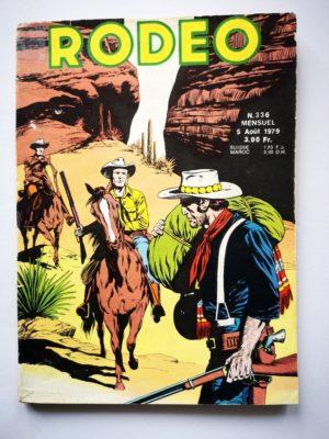 RODEO N°336 TEX WILLER – Le cinquième homme (2e partie) LUG 1979