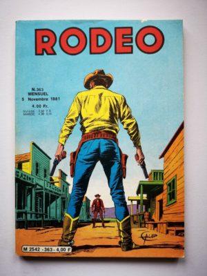 RODEO N°363 TEX WILLER – L'aigle et la foudre (2e partie) – LUG 1981