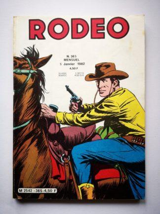 Rodeo n° 363 TEX WILLER - BD LUG 1981