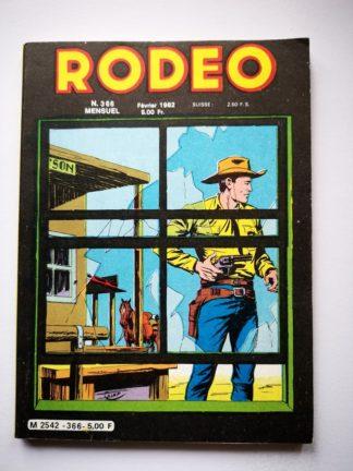 Rodeo n° 366 TEX WILLER - LUG 1982 - BD LUG