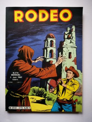 RODEO N°370 TEX WILLER (Santa Cruz 2e partie) LUG 1982