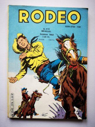RODEO N° 374 TEX WILLER - La bande à Balder (2e partie) LUG 1982