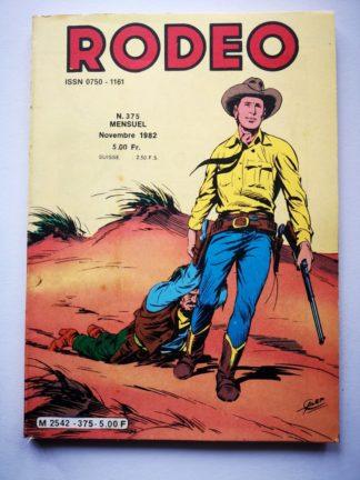 RODEO N° 375 TEX WILLER - La bande à Balder (fin) LUG 1982