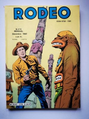 RODEO N°376 TEX WILLER – Virginia City (2e partie) LUG 1982