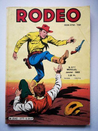 RODEO N° 377 TEX WILLER - Virginia City (3e partie) LUG 1983