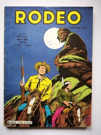 RODEO N° 379 TEX WILLER - Virginia City (fin) LUG 1983