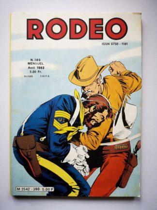 RODEO N° 380 TEX WILLER - Frontière de feu (2e partie) LUG 1983