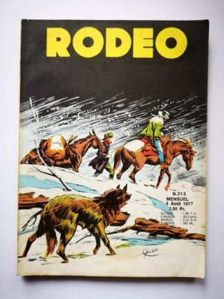 RODEO N° 312 TEX WILLER - LUG 1977