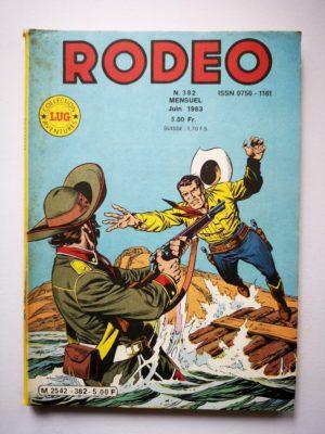 RODEO N°382 TEX WILLER – Frontière de feu (4e partie) LUG 1983