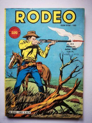 RODEO N° 382 TEX WILLER - LUG 1983