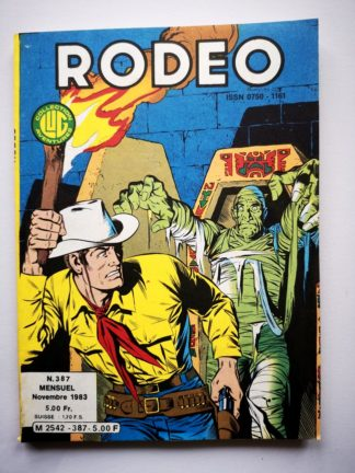 RODEO N° 387 TEX WILLER  - LUG 1983