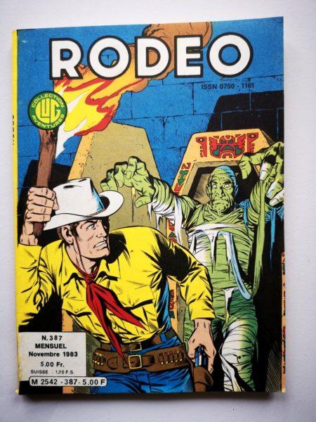 RODEO N° 387 TEX WILLER - LUG 1983