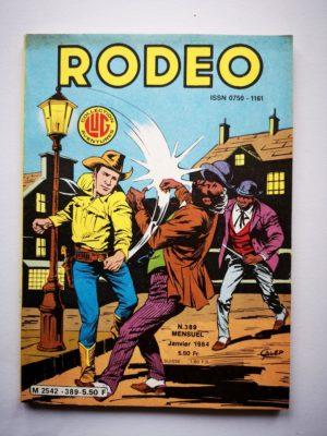RODEO N°389 TEX WILLER – La partie est ouverte (2e partie) LUG 1984