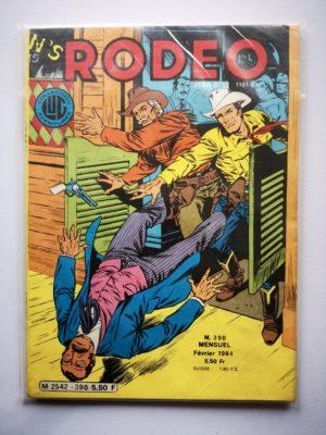 RODEO N°390 TEX WILLER – La partie est ouverte (3e partie) LUG 1984