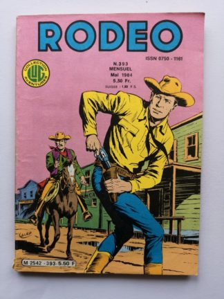 RODEO N° 393 TEX WILLER - LUG BD
