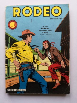 RODEO N° 397 TEX WILLER - LUG BD