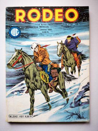 RODEO N° 401 TEX WILLER - Les guerriers venus du Nord (3e partie) BD