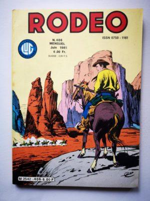 RODEO N°406 TEX WILLER – La marque de Satan (2e partie) LUG 1985